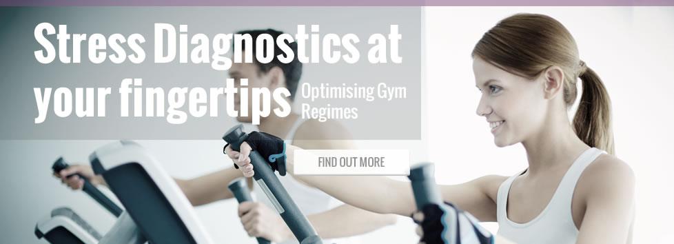 Stress Diagnostics at your fingerstips - Optimising Gym Regimes